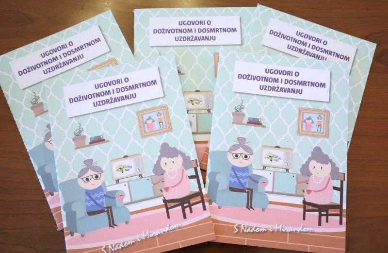 Ugovor o uzdržavanju / Foto: Hina