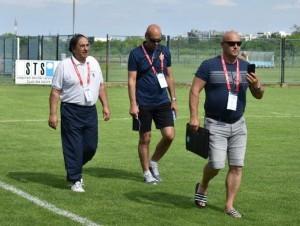 Luka Rakitić (prvi s desna) izlazi na svečano otvaranje prvenstva / Foto: Fenix
