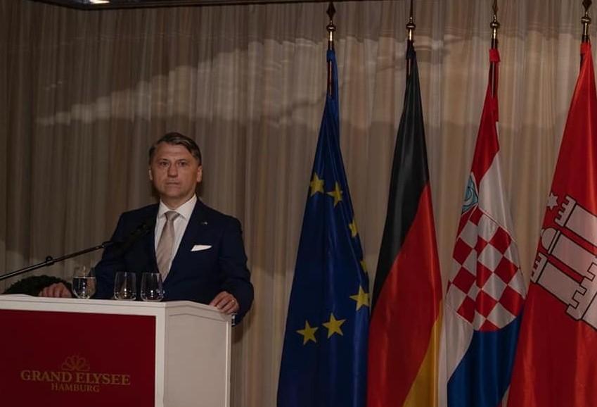 PROSLAVA OBLJETNICE: Generalni konzulat RH u Hamburgu slavi 25. obljetnicu osnutka