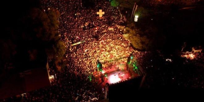 Snimka koncerta u Åirokom / Foto: MLJ