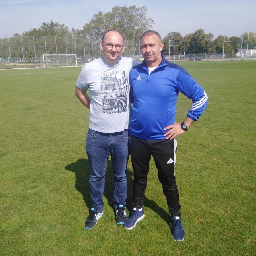 Treneri Željko Mrkonjić i Željko Mikulić / Foto: Fenix (J. Mijić)