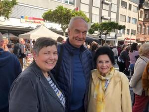 Majka Prijateljstva Dubrovnika i Bad Homburga Olga Stoss (desno) / Foto: Fenix