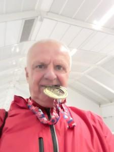 Eduard Tokić sa medaljom / Foto: Fenix
