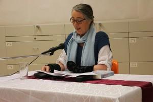 Dr. phil. Karin Afshar govorila je o romanu Marijane Dokoza