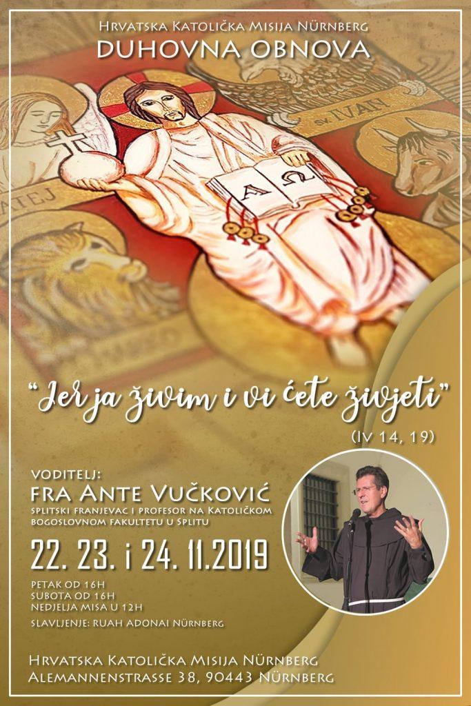 Najava duhovne obnove u Nuernbergu / Foto: Fenix