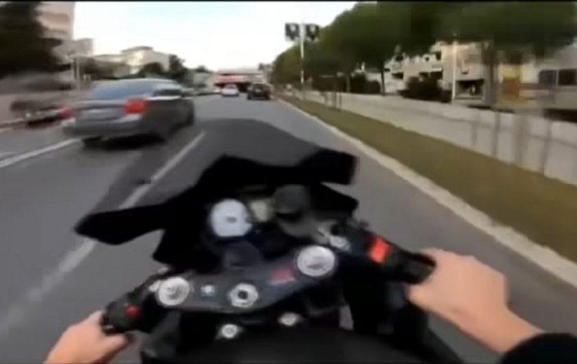 Splitskom motoristi izrečena kazna: Ide u zatvor na 80 dana i mora platiti paprenu kaznu