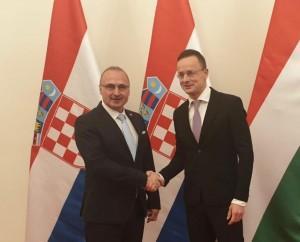 Peter Szijjarto i Ministar Grlić Radman