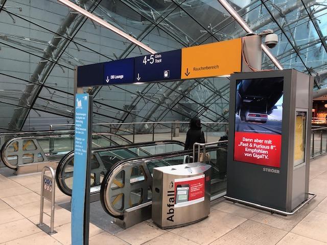 Ulaz u podzemnu željeznicu na novom dijelu Zračne luke Frankfurt / Foto: Fenix