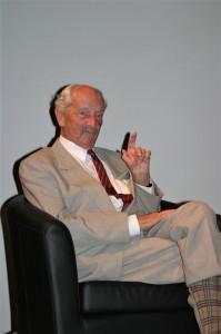 Grof Drašković u Hrvatskom centru u Beču 2007. godine/Foto. Petar Tyran