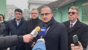 Ministar Gordan Grlić Radman u Murskom Središću / Foto: Fenix (MVEP)