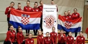 Mažoretkinje Croatia München Majoretten