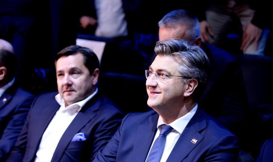 Na fotografiji Andrija Mikulić i premijer Andrej Plenković / Foto: Hina