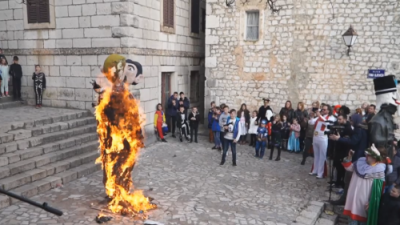 spaljena figura gay para