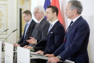Ministar Gernot Blümel (drugi s desna)/Foto: BKA, Beč - A. Wenzel
