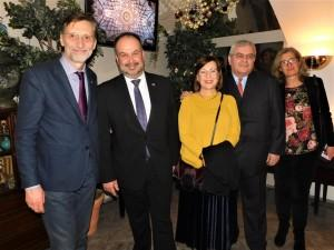 Miro Gavran i i veleposlanik Daniel Glunčić