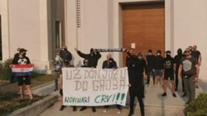 Transparenti podrške don Jozi / Foto: Preslik RTL