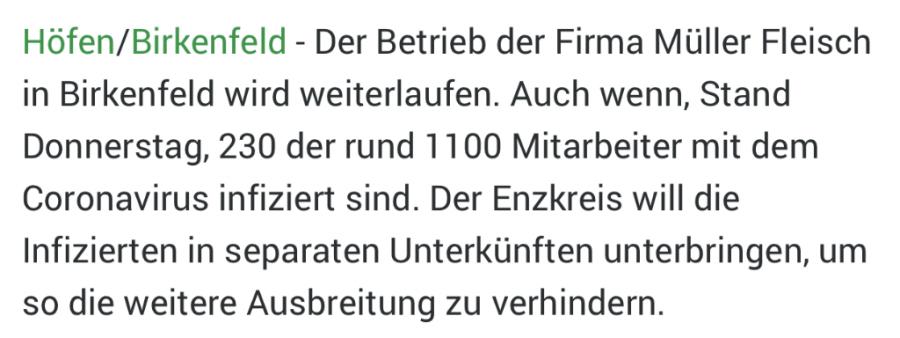 Njemački mediji izvještavaju o zaraženim radnicima