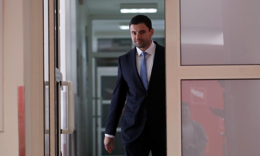 Predsjednik SDP-a Davor Bernardić / Foto: Hina