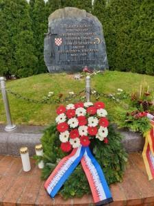 Vijenac za poginule na Bleiburgu / Foto: Fenix