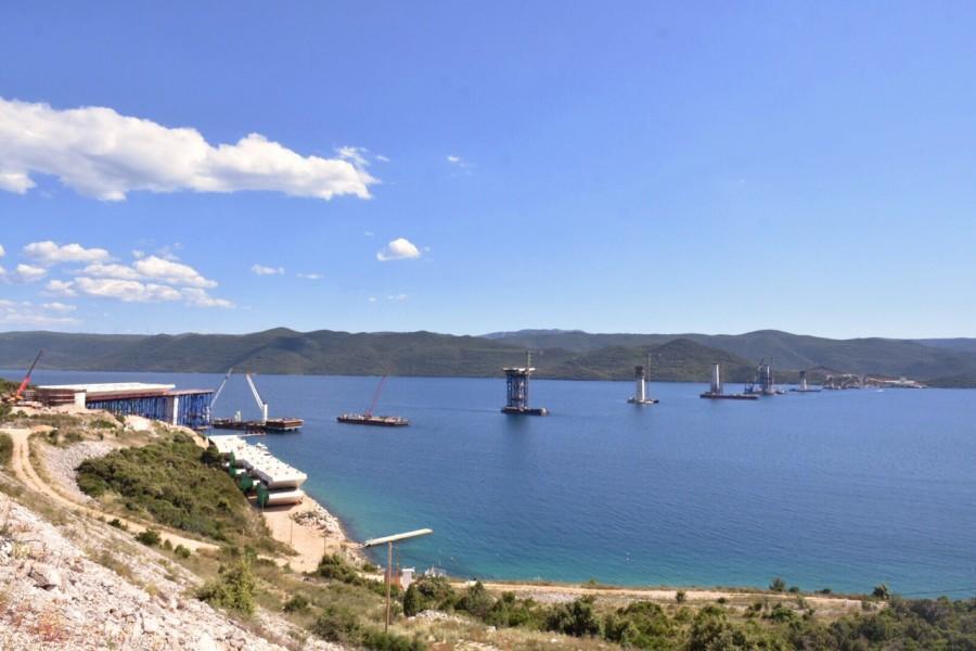 PELJEŠKI MOST: Neće biti većih kašnjenja izgradnje mosta koji će zauvijek riješiti teritorijalnu povezanost Hrvatske
