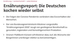 Njemački mediji pišu kako su građani Njemačke promijenili prehrambene navike