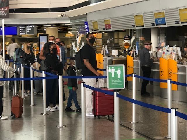 Zračna luka Frankfurt / Foto: Fenix