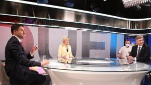 Sučeljavanje na RTL-u / Foto : Hina