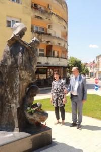 Zdravka Bušić i gradonačelnik Ljubuškog Nevenko Barbarić / Foto: Fenix