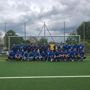 Igrači prve i druge momčadi KSC Ehingen