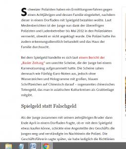 Švicarski i njemački mediji pišu o dječaku