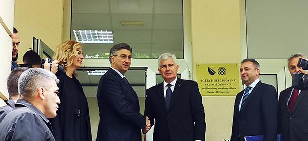MOSTAR: Plenković protiv žice između Hrvatske i BiH