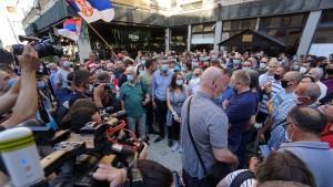 Prosvjedi u Beogradu / Foto: Hina