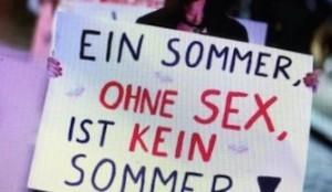 Plakat s demonstracija u Hamburgu / Foto: Preslik Tag24