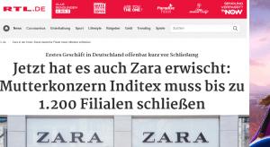 Njemački mediji izvještavaju o katastrofalnoj situaciji  i zatvaranju trgovina