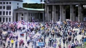 Prosvjed u Berlinu / Foto: Fenix (Preslik RP)