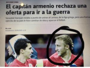 Naslov iz talijanskih medija / Foto: Preslik