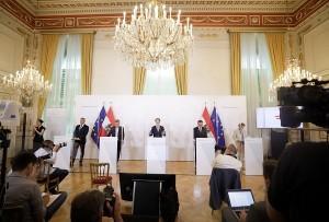 Sebastian Kurz i ministri / Foto: Fenix (S.Herek/  Andy Wenzel)