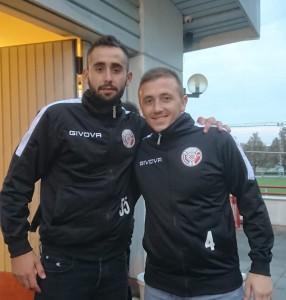 Željko Madžarević i Antun Hrskanović  strjelci za Alkar Basel / Foto: Fenix