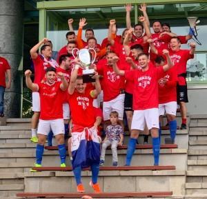Prošlogodišnji kup pobjednici NK Croatia Bietigheim