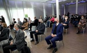 Hrvatska matica iseljenika (HMI) i Institut društvenih znanosti Ivo Pilar predstavili su Leksikon hrvatskoga iseljeništva i manjina / Foto: Hina