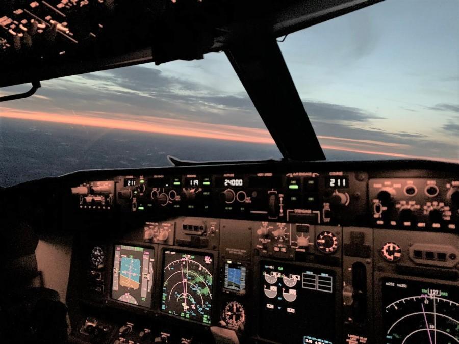 Unutrašnjost zrakoplova / Foto: Fenix (A.Kralj)