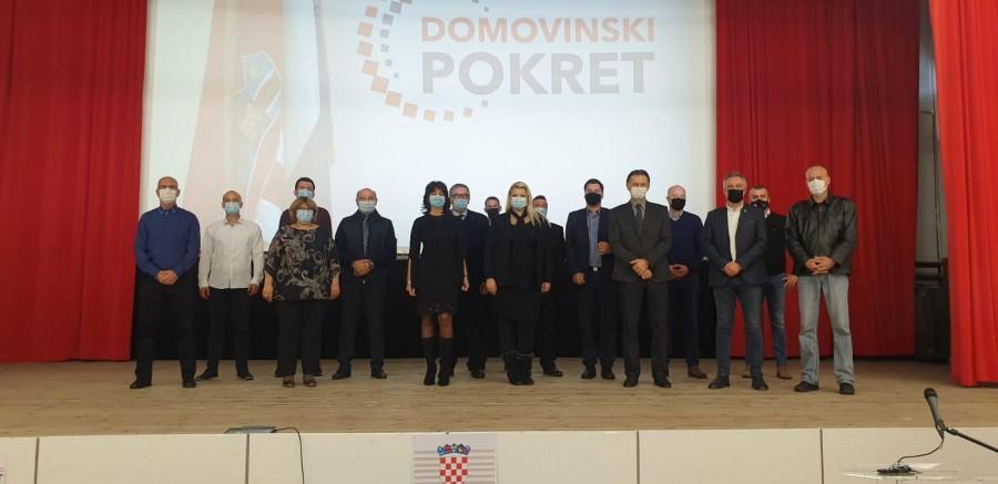 Domovinski pokret osnovao podružnicu u Dubrovačko-neretvanskoj županiji.
