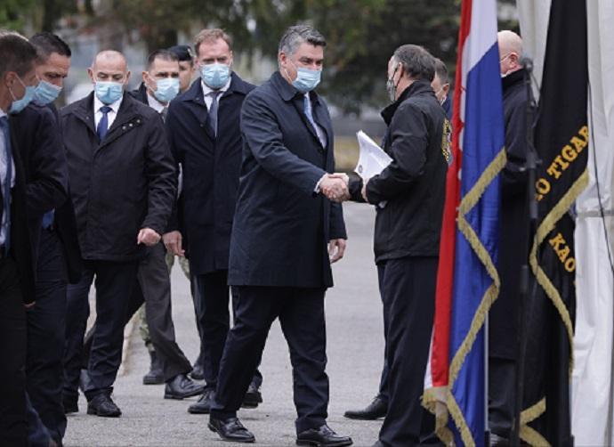 "Obljetnica 30. godišnjice ustrojavanja 1. gardijske brigade ""Tigrovi"" / Foto: Hina"