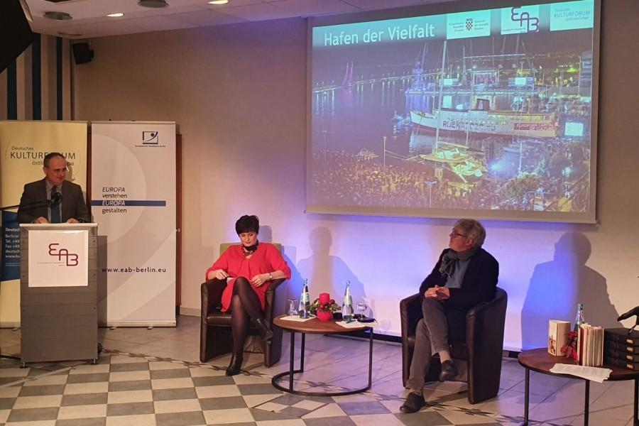 S predavanja u Berlinu / Foto: Fenix