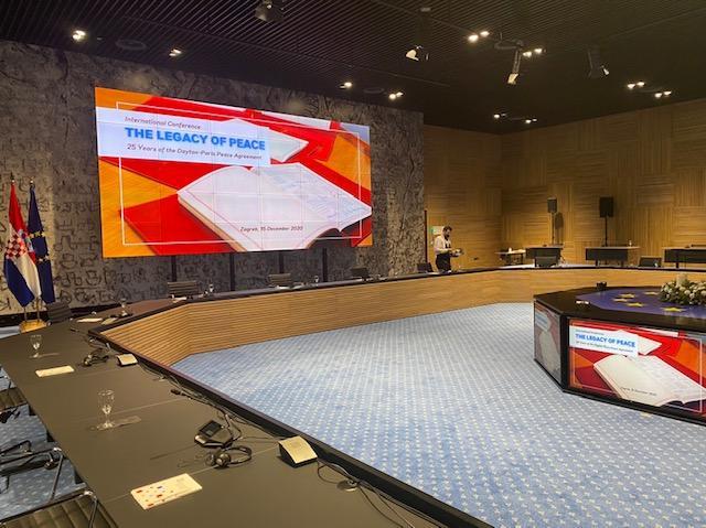 """Međunarodna konferencija """"Nasljeđe mira – 25 godina Daytonsko-pariškog mirovnog sporazuma"""""""