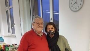 Predsjednik H.Schmidt i potpredsjednica S.Pavić / Foto: Fenix