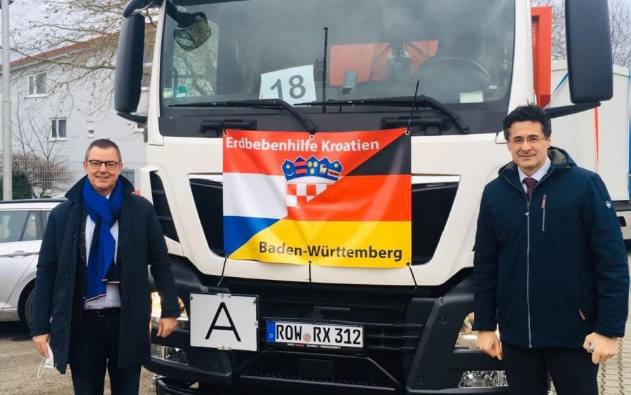 Gradonačelnik Bad Krotzingena Volker Kieber i Ivan Sablić