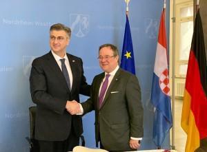 Premijer Andrej Plenković i Armin Laschet (arhiv FM) / Foto: Fenix