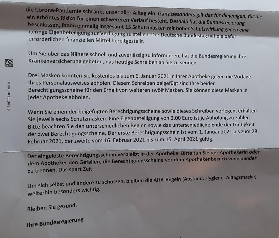 Primjerak pisma kakvog je dobio liječnik Johannes Wimmer na ime svoje preminule kćeri / Foto: Fenix (M.D.)