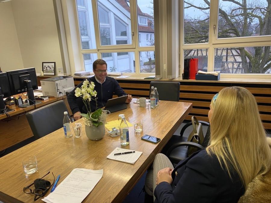 U uredu gradonačelnika Sebastiana Kurza / Foto: Fenix